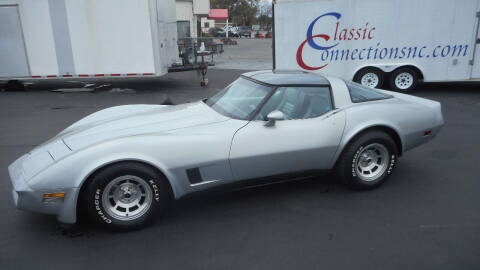1981 Chevrolet Corvette for sale at Classic Connections in Greenville NC