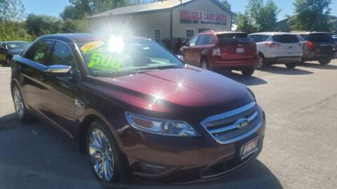 2011 Ford Taurus for sale at Reliable Cars Sales in Michigan City IN