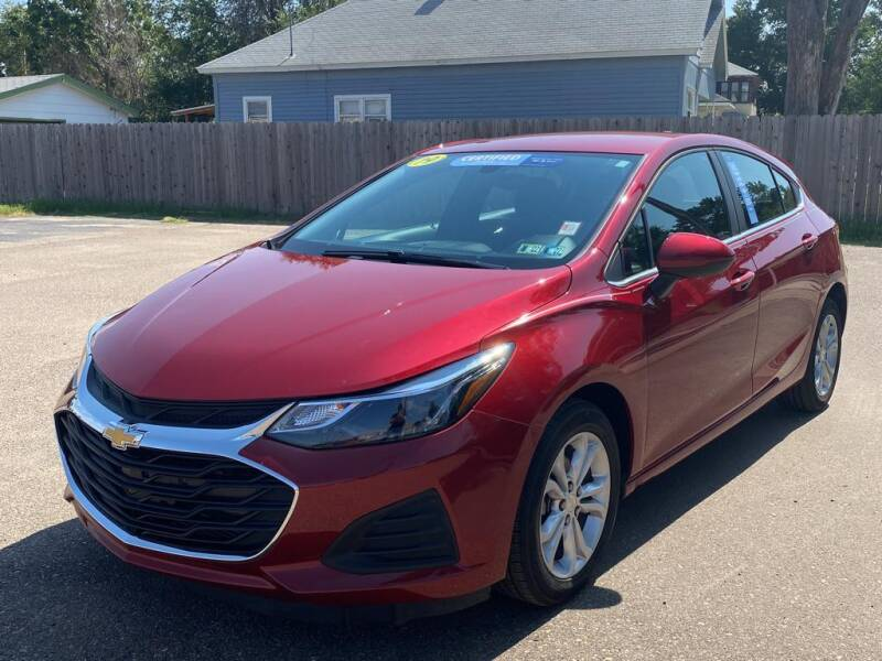 2019 Chevrolet Cruze for sale at Lewis Chevrolet Buick of Liberal in Liberal KS