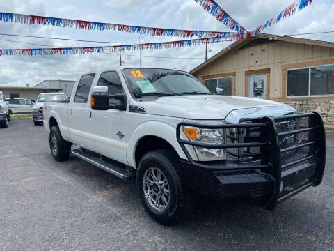 2012 Ford F-250 Super Duty for sale at The Trading Post in San Marcos TX
