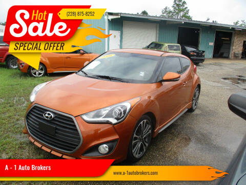 2016 Hyundai Veloster for sale at A - 1 Auto Brokers in Ocean Springs MS