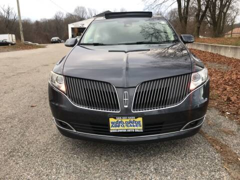 2013 Lincoln MKT for sale at Worldwide Auto Sales in Fall River MA