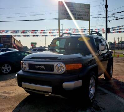 2007 Toyota FJ Cruiser for sale at CAPITOL AUTO SALES LLC in Baton Rouge LA