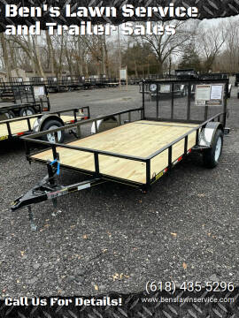 2021 Trailer Express 12'NonTilt for sale at Ben's Lawn Service and Trailer Sales in Benton IL