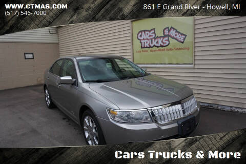 2008 Lincoln MKZ for sale at Cars Trucks & More in Howell MI