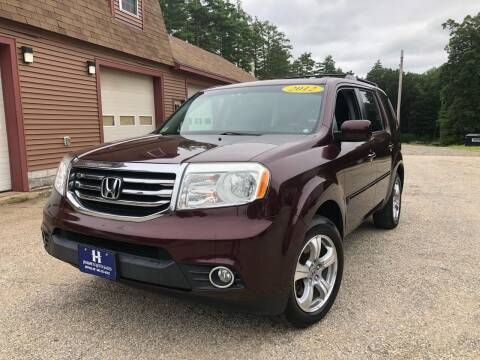 2012 Honda Pilot for sale at Hornes Auto Sales LLC in Epping NH