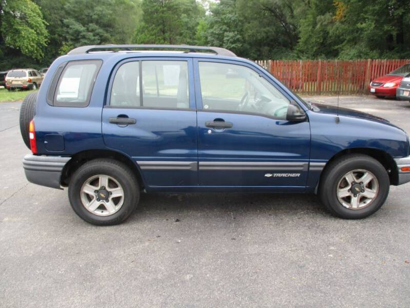 2002 Chevrolet Tracker for sale at KEY USED CARS LTD in Crystal Lake IL