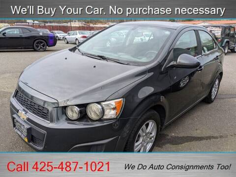 2014 Chevrolet Sonic for sale at Platinum Autos in Woodinville WA
