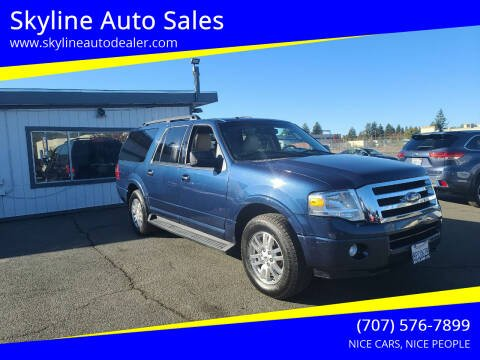 2014 Ford Expedition EL for sale at Skyline Auto Sales in Santa Rosa CA