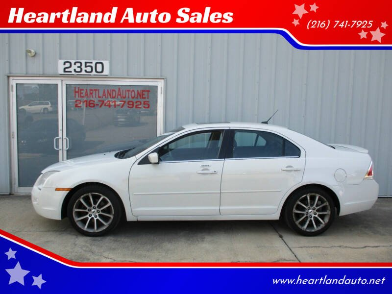 2009 Ford Fusion for sale at Heartland Auto Sales in Medina OH