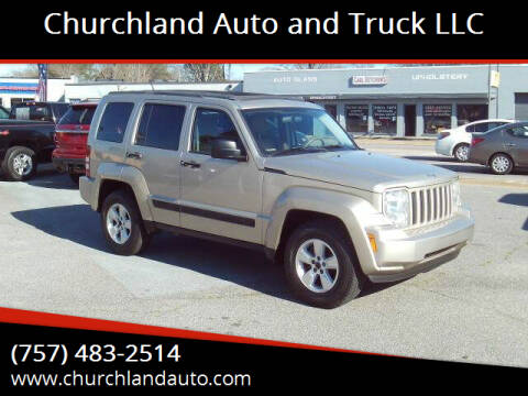 2010 Jeep Liberty for sale at Churchland Auto and Truck LLC in Portsmouth VA