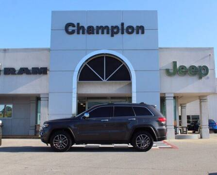 2018 Jeep Grand Cherokee for sale at Champion Chevrolet in Athens AL