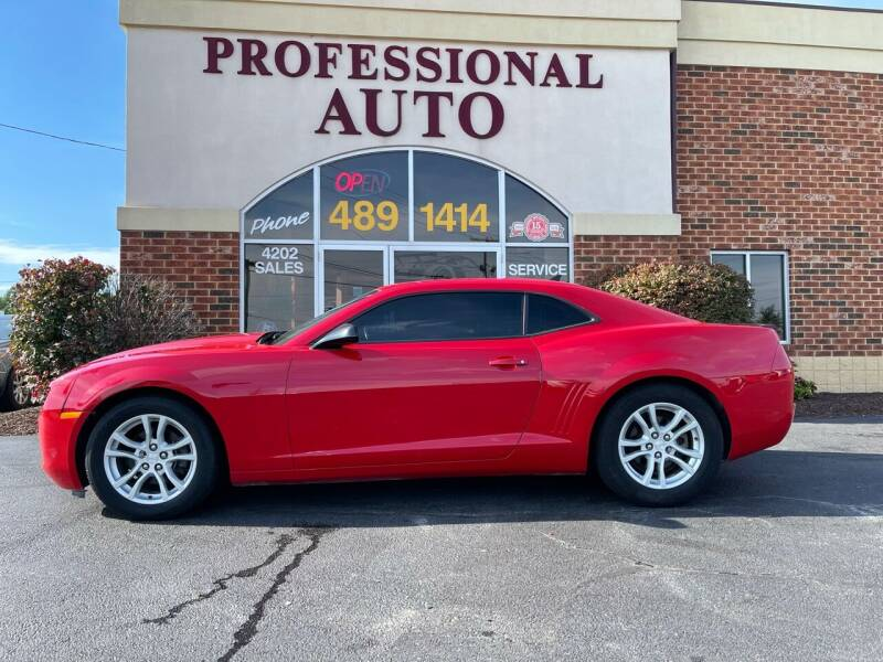 2013 Chevrolet Camaro for sale at Professional Auto Sales & Service in Fort Wayne IN