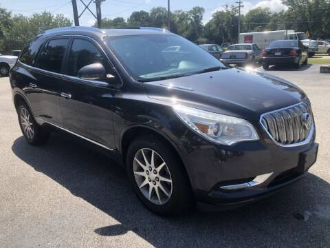 2015 Buick Enclave for sale at Auto Cars in Murrells Inlet SC