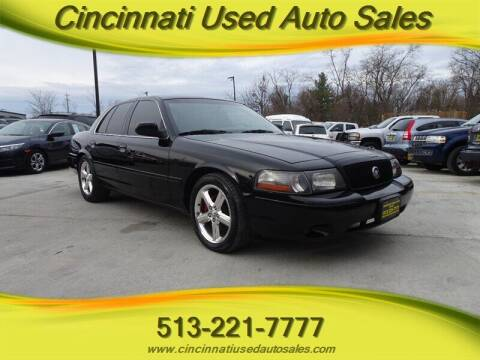 2003 Mercury Marauder for sale at Cincinnati Used Auto Sales in Cincinnati OH