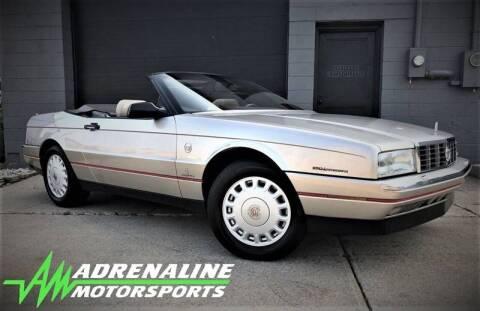 1993 Cadillac Allante for sale at Adrenaline Motorsports Inc. in Saginaw MI