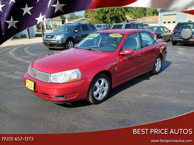 2003 Saturn L-Series for sale at Best Price Autos in Two Rivers WI