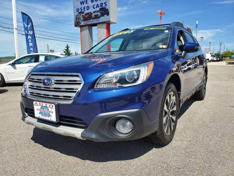 2016 Subaru Outback for sale at Auto Wholesalers Of Hooksett in Hooksett NH