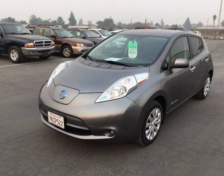 2015 Nissan LEAF for sale at My Three Sons Auto Sales in Sacramento CA