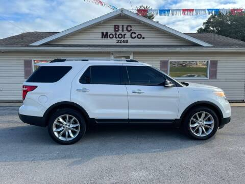 2014 Ford Explorer for sale at Bic Motors in Jackson MO