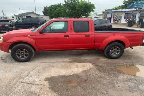 2004 Nissan Frontier for sale at WF AUTOMALL in Wichita Falls TX