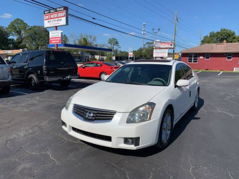 2008 Nissan Maxima for sale at Sam's Motor Group in Jacksonville FL