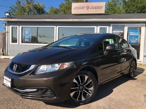 2013 Honda Civic for sale at Star Cars LLC in Glen Burnie MD