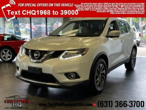 2016 Nissan Rogue for sale at CERTIFIED HEADQUARTERS in Saint James NY