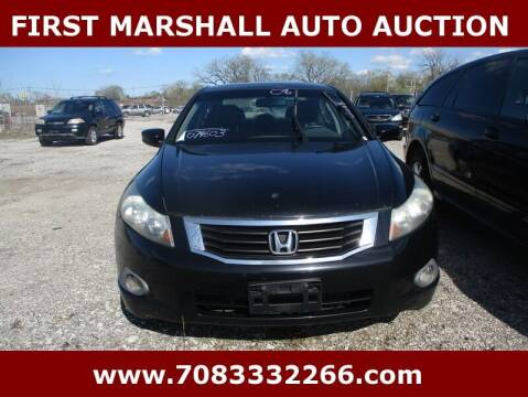 2008 Honda Accord for sale at First Marshall Auto Auction in Harvey IL