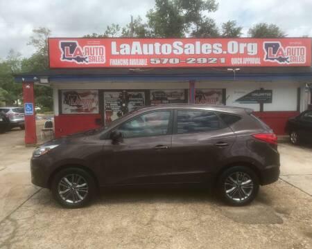 2014 Hyundai Tucson for sale at LA Auto Sales in Monroe LA