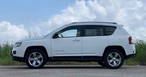 2017 Jeep Compass for sale at Palmer Auto Sales in Rosenberg TX