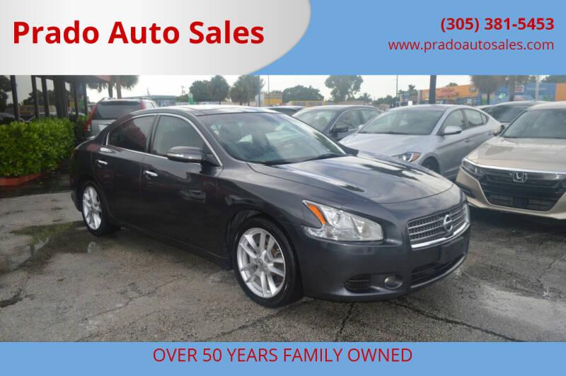 2011 Nissan Maxima for sale at Prado Auto Sales in Miami FL