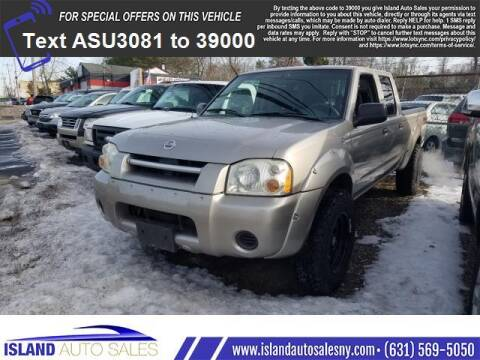2004 Nissan Frontier for sale at Island Auto Sales in E.Patchogue NY