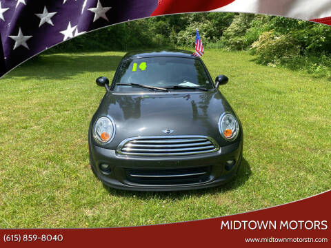 2014 MINI Coupe for sale at Midtown Motors in Greenbrier TN