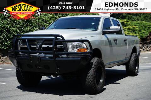2010 Dodge Ram Pickup 2500 for sale at West Coast Auto Works in Edmonds WA