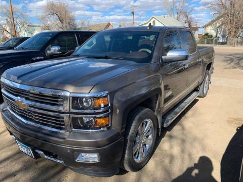 2015 Chevrolet Silverado 1500 for sale at FAST LANE AUTOS in Spearfish SD