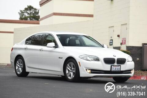 2013 BMW 5 Series for sale at Galaxy Autosport in Sacramento CA