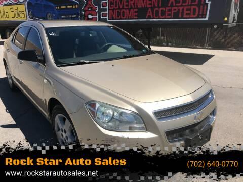 2008 Chevrolet Malibu for sale at Rock Star Auto Sales in Las Vegas NV