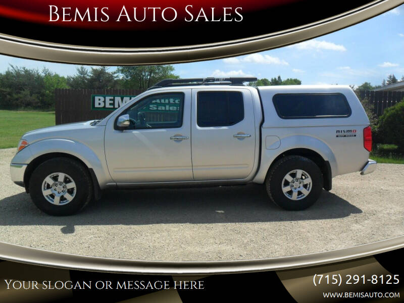 2006 Nissan Frontier for sale at Bemis Auto Sales in Crivitz WI