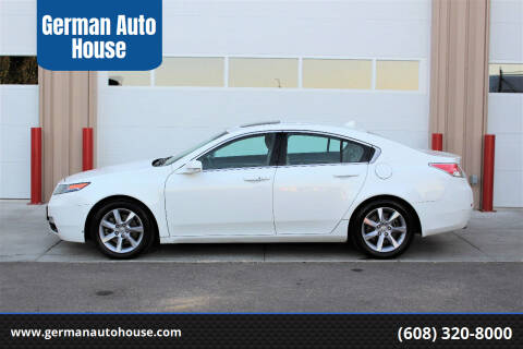 2013 Acura TL for sale at German Auto House in Fitchburg WI