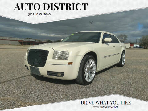 2009 Chrysler 300 for sale at Auto District in Baytown TX