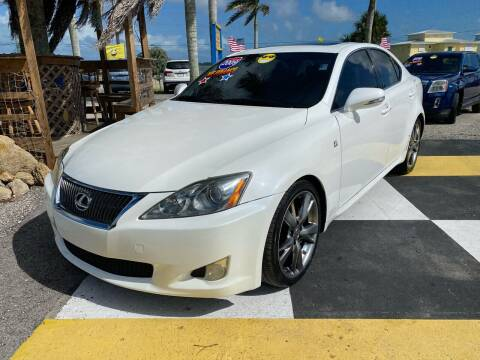2009 Lexus IS 250 for sale at D&S Auto Sales, Inc in Melbourne FL
