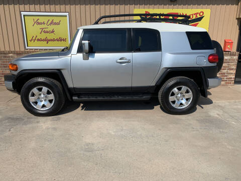 2007 Toyota FJ Cruiser for sale at BIG 'S' AUTO & TRACTOR SALES in Blanchard OK