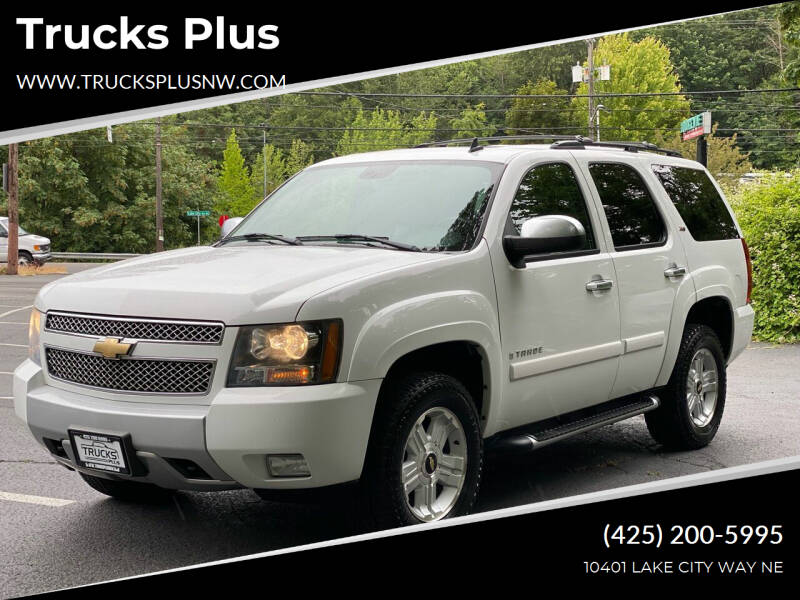 2007 Chevrolet Tahoe for sale at Trucks Plus in Seattle WA