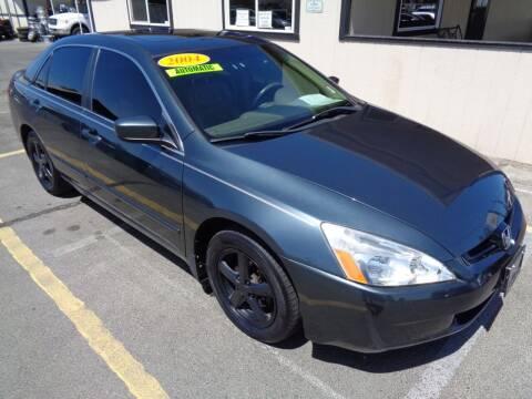 2004 Honda Accord for sale at BBL Auto Sales in Yakima WA