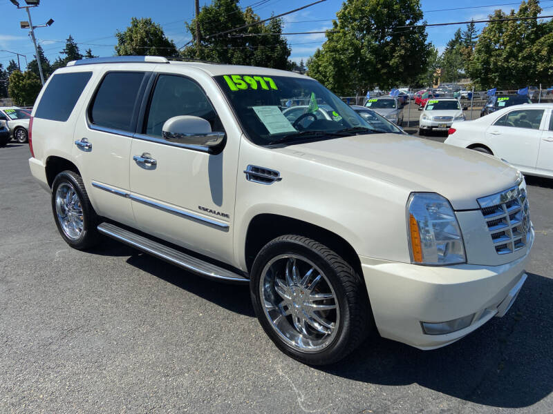 2010 Cadillac Escalade for sale at Pacific Point Auto Sales in Lakewood WA