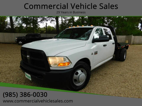 2012 RAM Ram Pickup 3500 for sale at Commercial Vehicle Sales in Ponchatoula LA