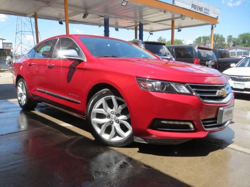 2015 Chevrolet Impala for sale at PR1ME Auto Sales in Denver CO