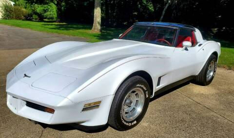 1981 Chevrolet Corvette for sale at The Car Store in Milford MA