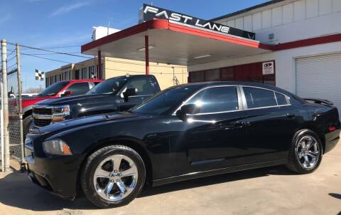 2012 Dodge Charger for sale at FAST LANE AUTO SALES in San Antonio TX